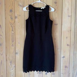 Ann Taylor• LOFT• Black Dress w Cutouts• Size 0